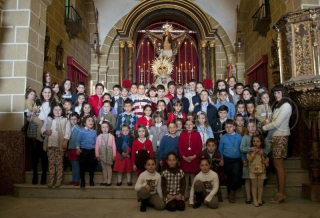 Grupo de Infantiles - Hermandad Cristo de la Expiracion | Jerez ...
