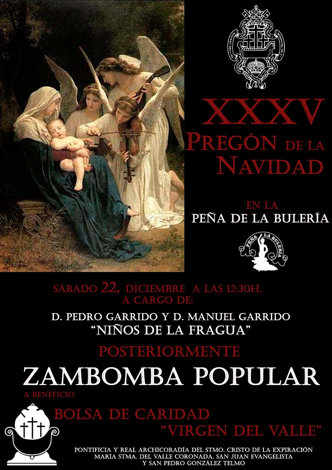 Pregon y Zambomba Cristo